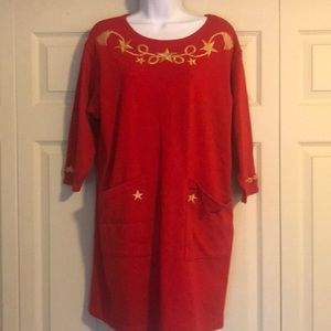 💋FINAL PRICE Red knit dress with sandals